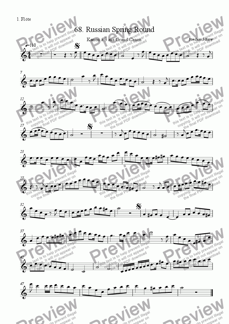 page one of the 1. Fl part from Grand Canon 68 (Russian Spring Round 3 Fl)