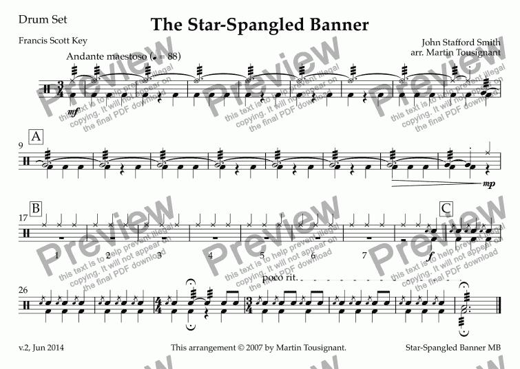 drum set sheet music free pdf