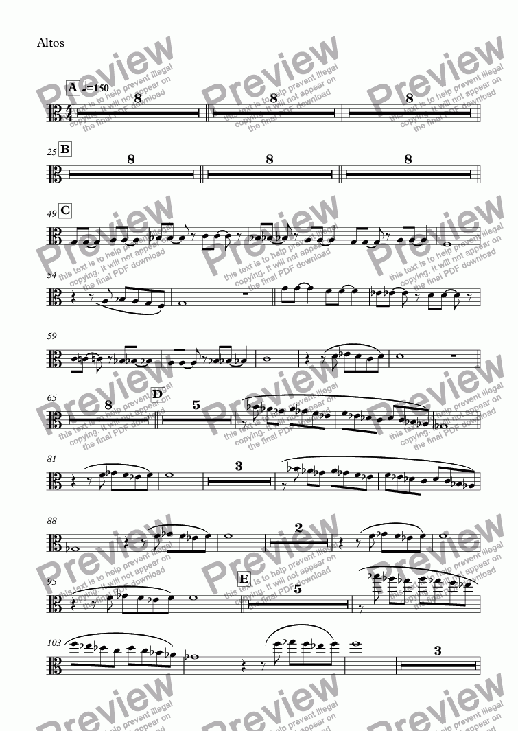 page one of the Altos part from NIELS