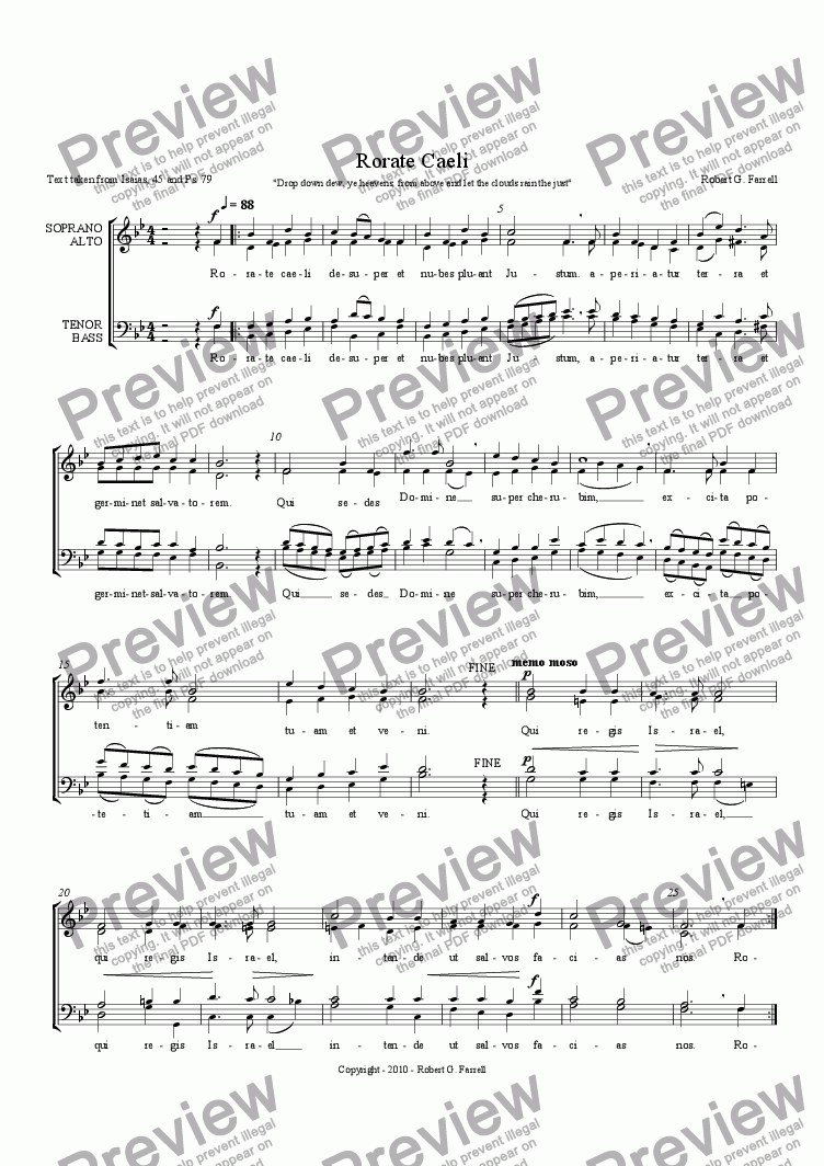 page one of Rorate Caeli