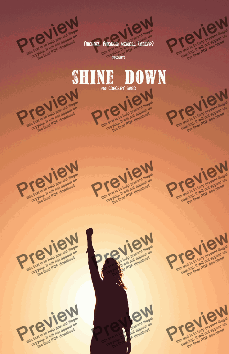 page one of Shine Down