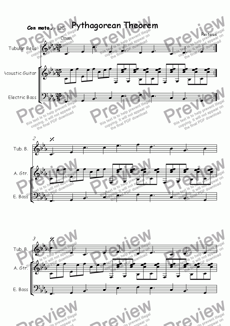 Workbooks pythagorean theorem worksheets pdf : Pythagorean Theorem - Download Sheet Music PDF file