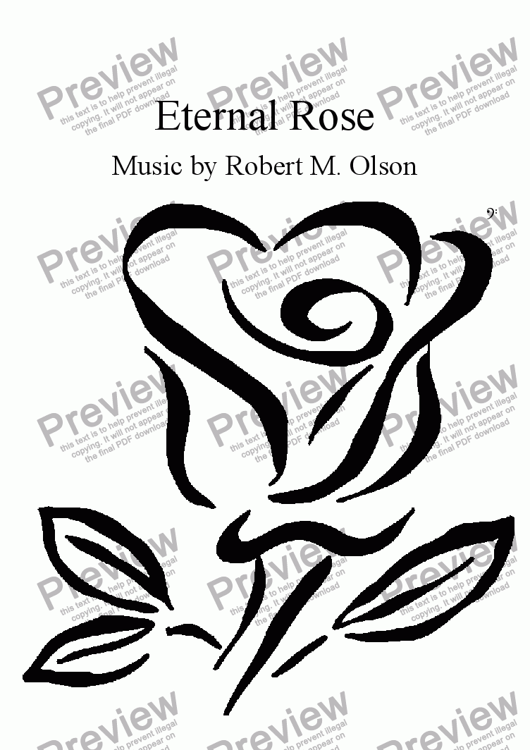 page one of Eternal Rose