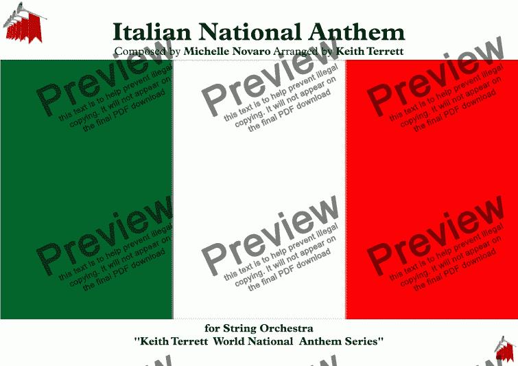 Inno d'italia (fratelli d'italia) sheet music for flute, clarinet.