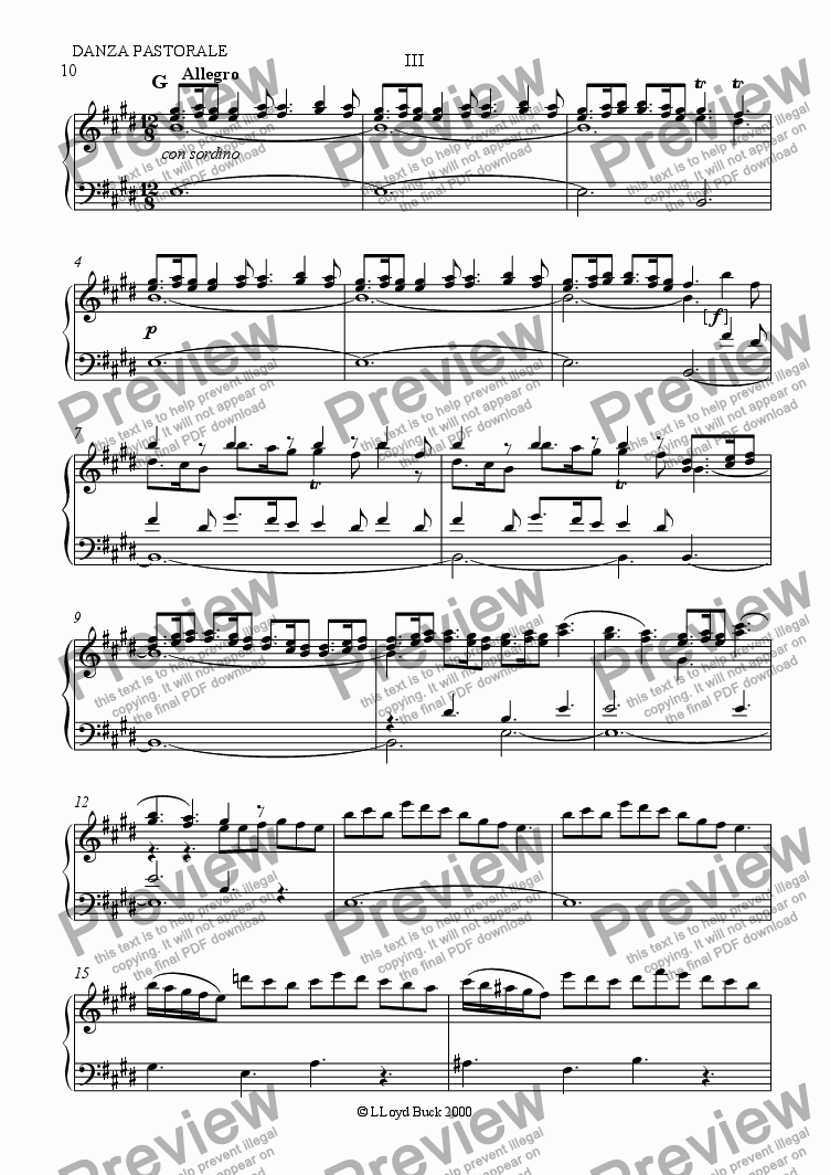 page one of The Four Seasons: Spring - 3rd mvtASALTTEXT