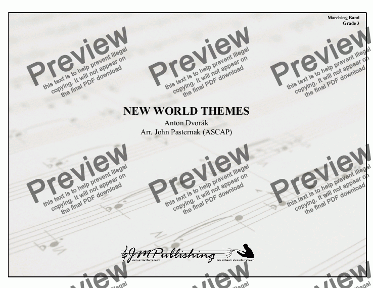 page one of  New World Themes