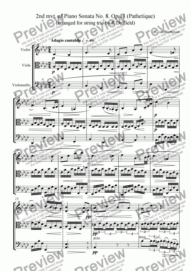 Pathetique Sonata 2nd Movement Mp3 Download