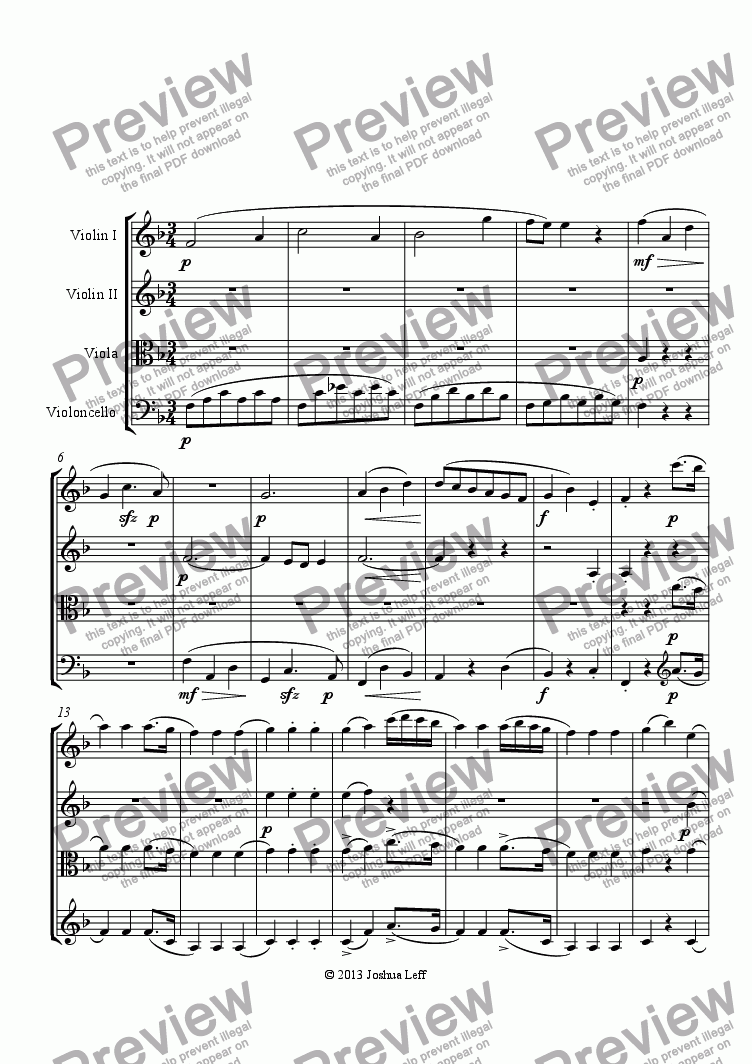 page one of Mozart Sonata 12 Arrangment_76.sib