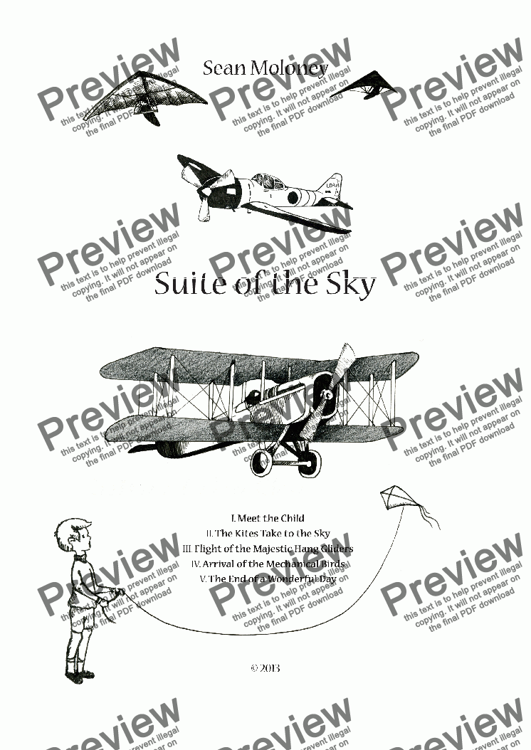 page one of Suite of the Sky