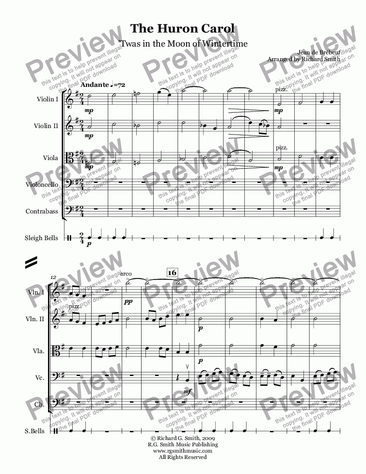 Which Method Of Viewing Music Should I Use: Huron Carol Sheet Music Free At Alzheimers-prions.com