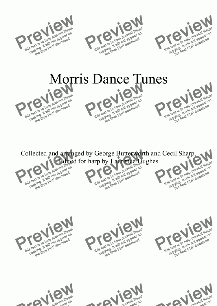 page one of Morris Dance Tunes