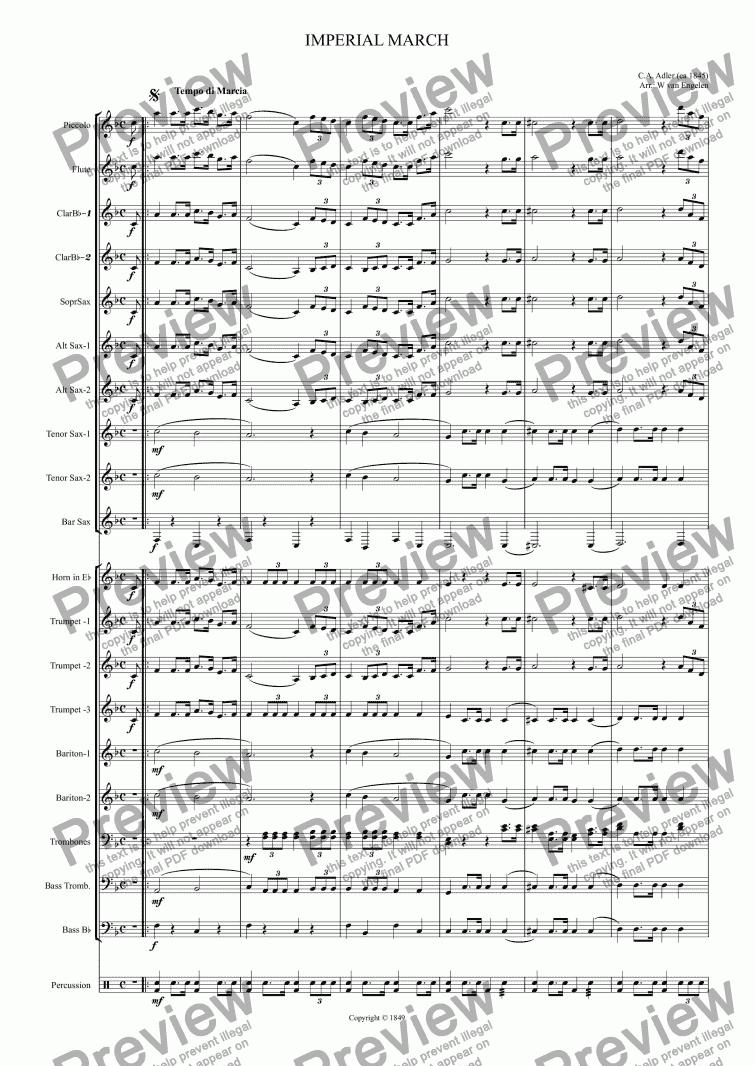 crown imperial sheet music pdf