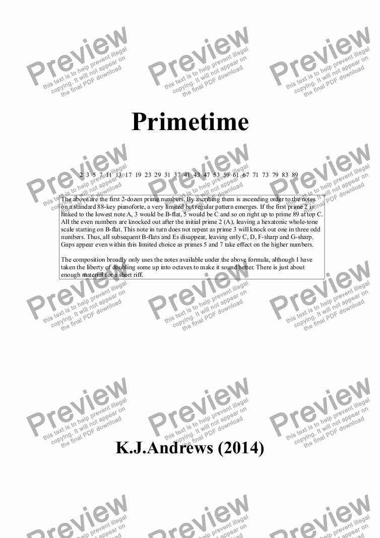 page one of PrimetimeASALTTEXT
