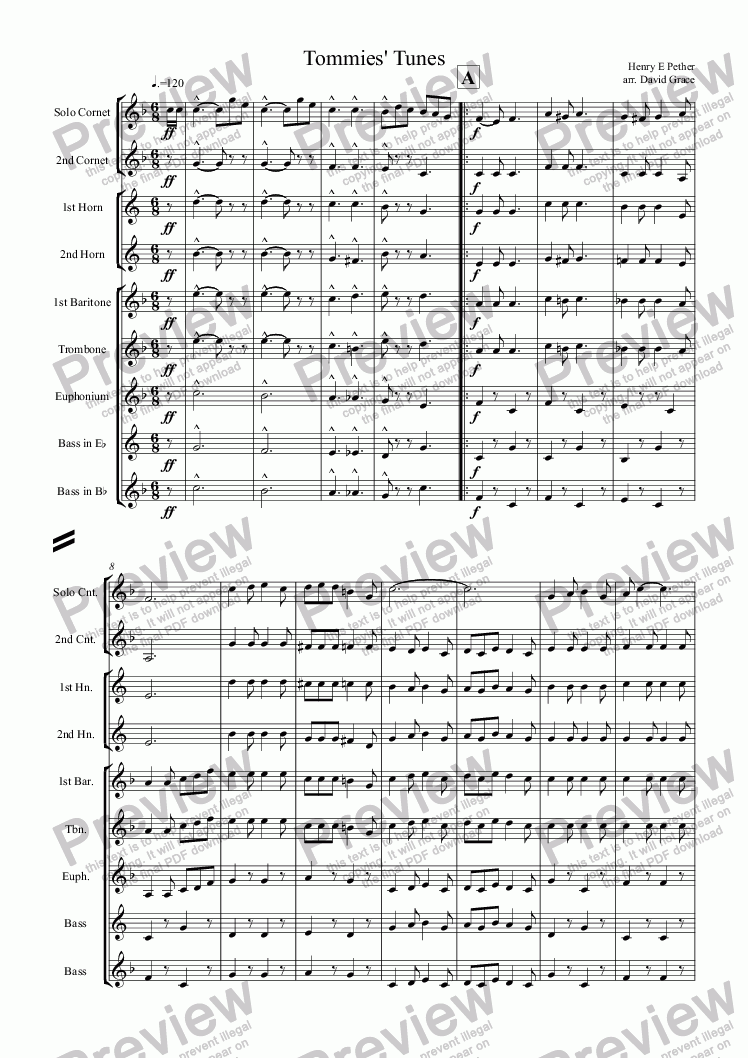 page one of Tommies' Tunes 1914-18