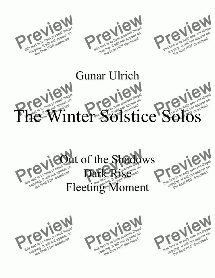 page one of The Winter Solstice Solos-(guitar solo).ASALTTEXT