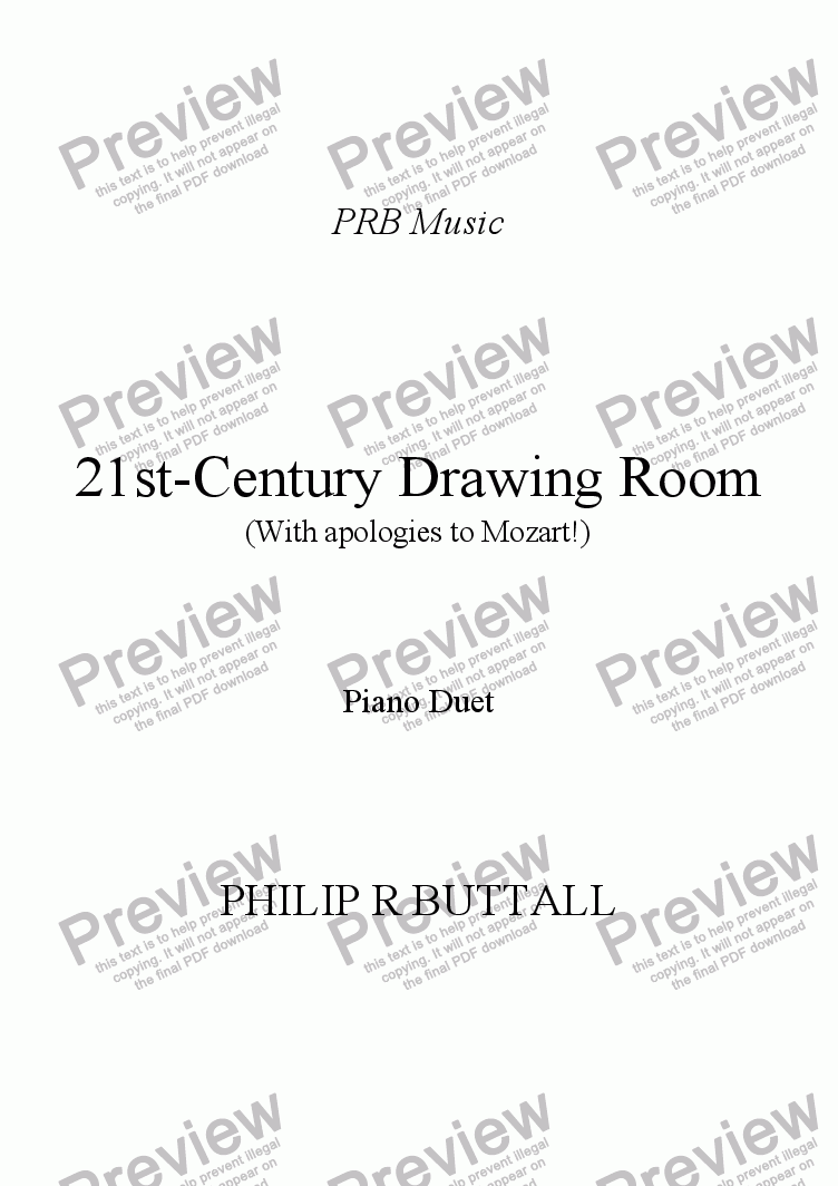 page one of 21st-Century Drawing Room