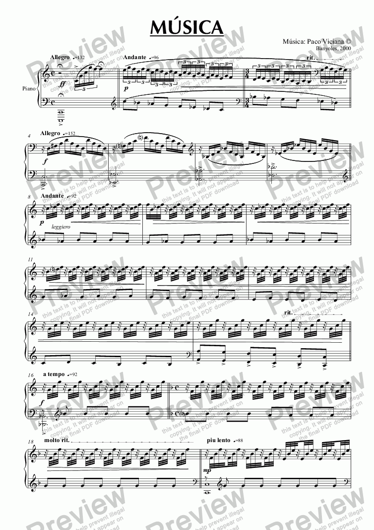 page one of 093-Música (piano version)