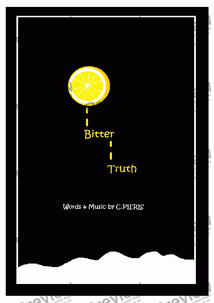 page one of Bitter Truth