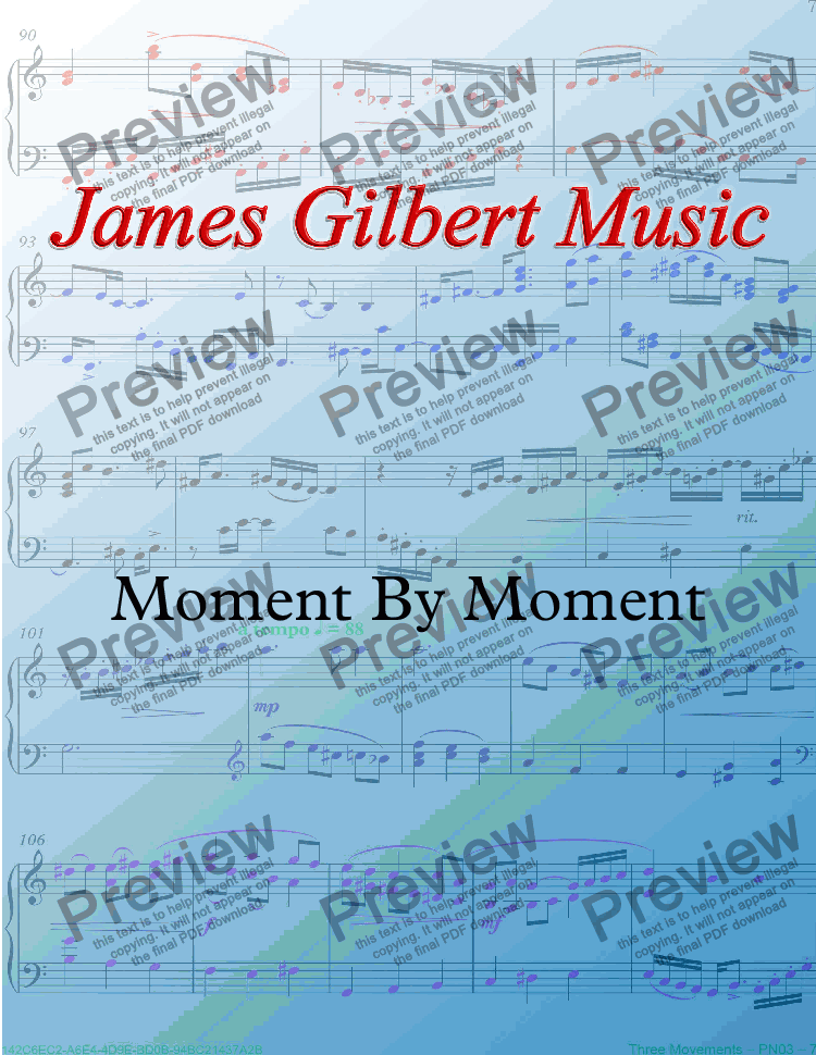 page one of Moment By Moment