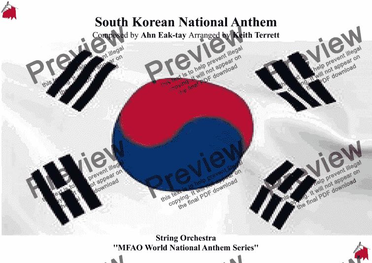korean national anthem mp3