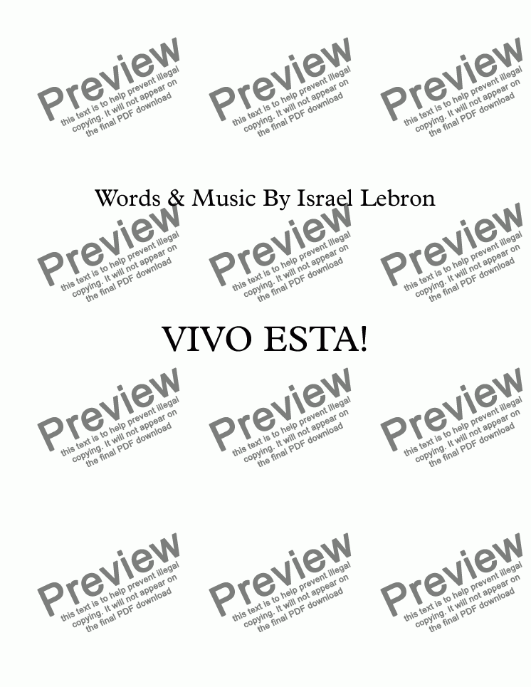 page one of Vivo EstaASALTTEXT