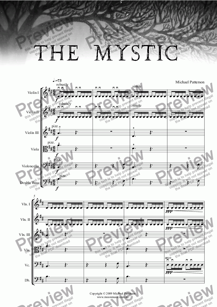 page one of The Mystic