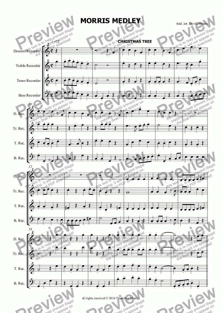 page one of MORRIS MEDLEY
