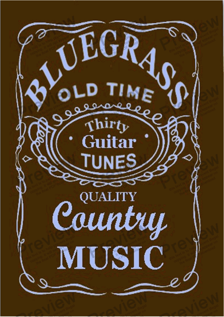 30 Bluegrass And Country Tunes Eadgbe Tab For Guitar Sheet Music Pdf