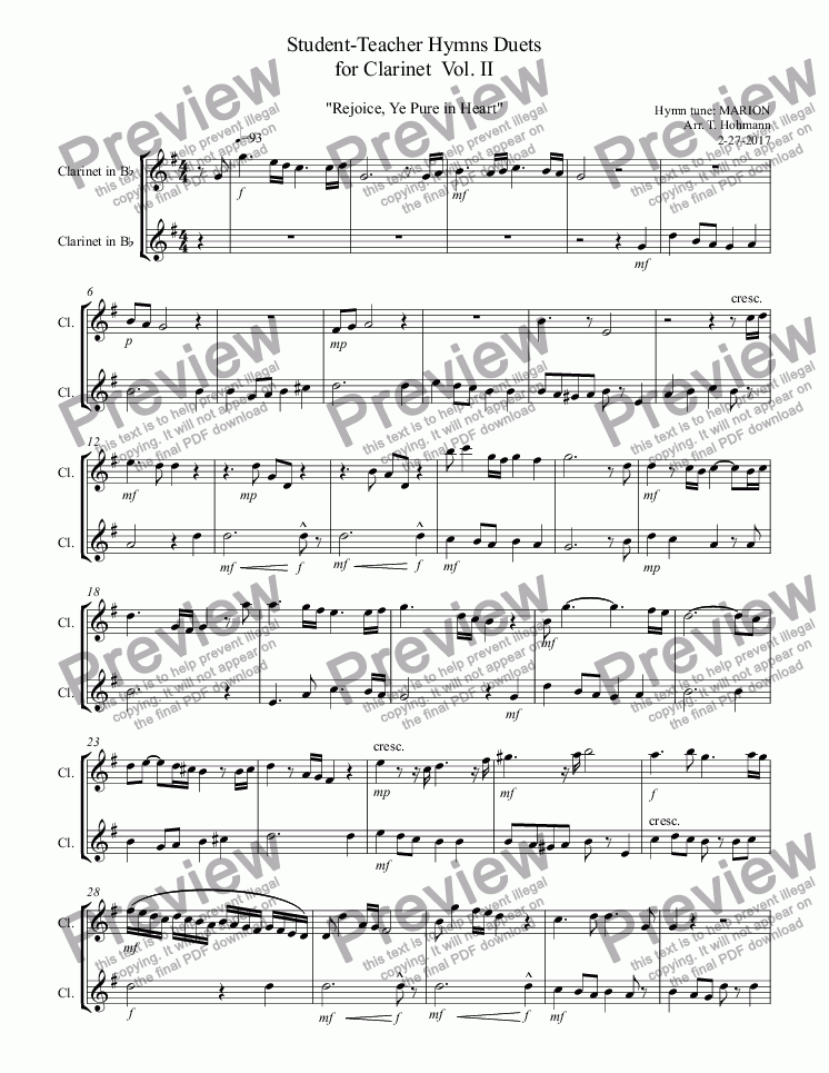Which Method Of Viewing Music Should I Use: It Is Well With My Soul Sheet Music Clairnet At Alzheimers-prions.com