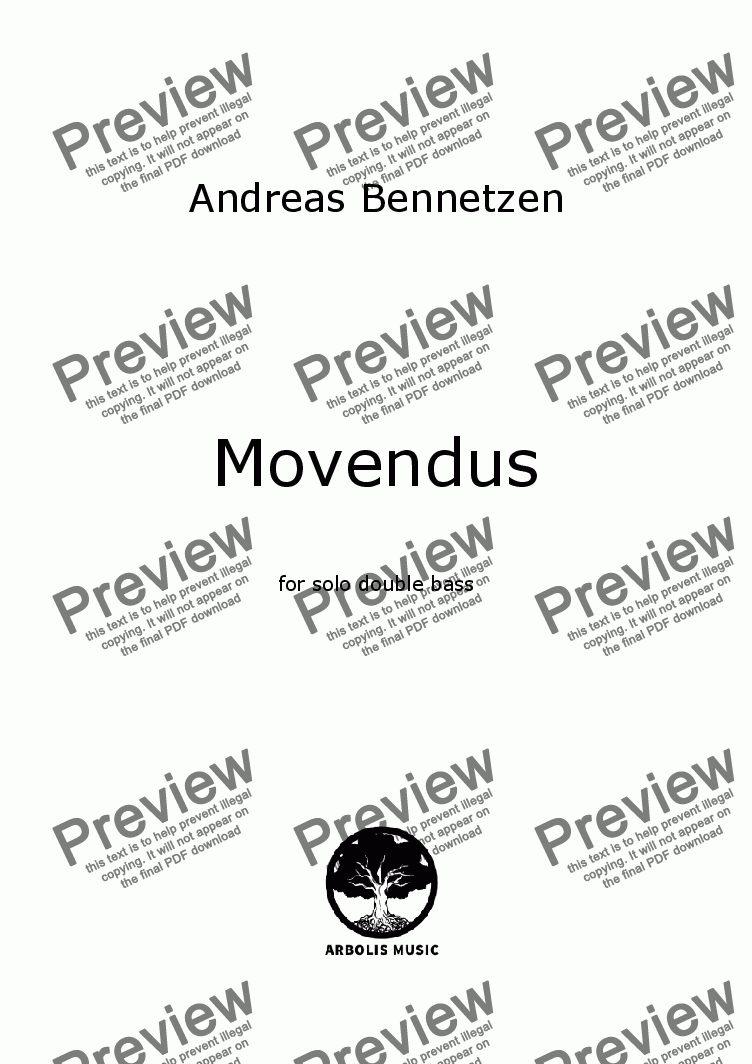 page one of Movendus