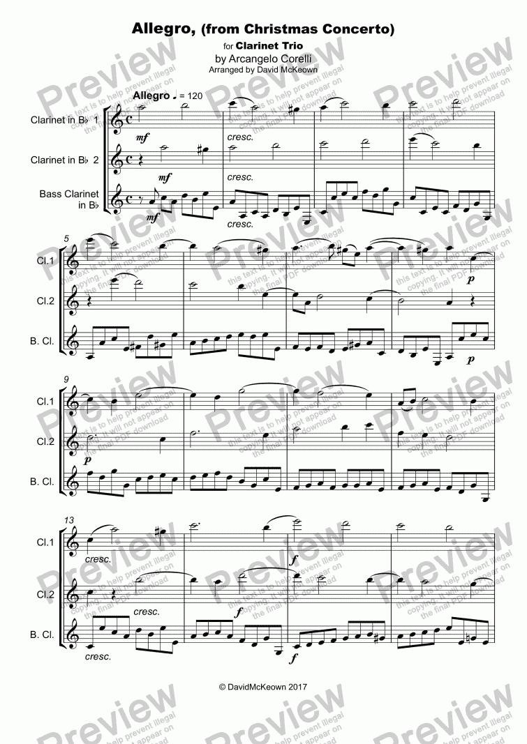Corelli Christmas Concerto Sheet Music Best 4k Wallpapers