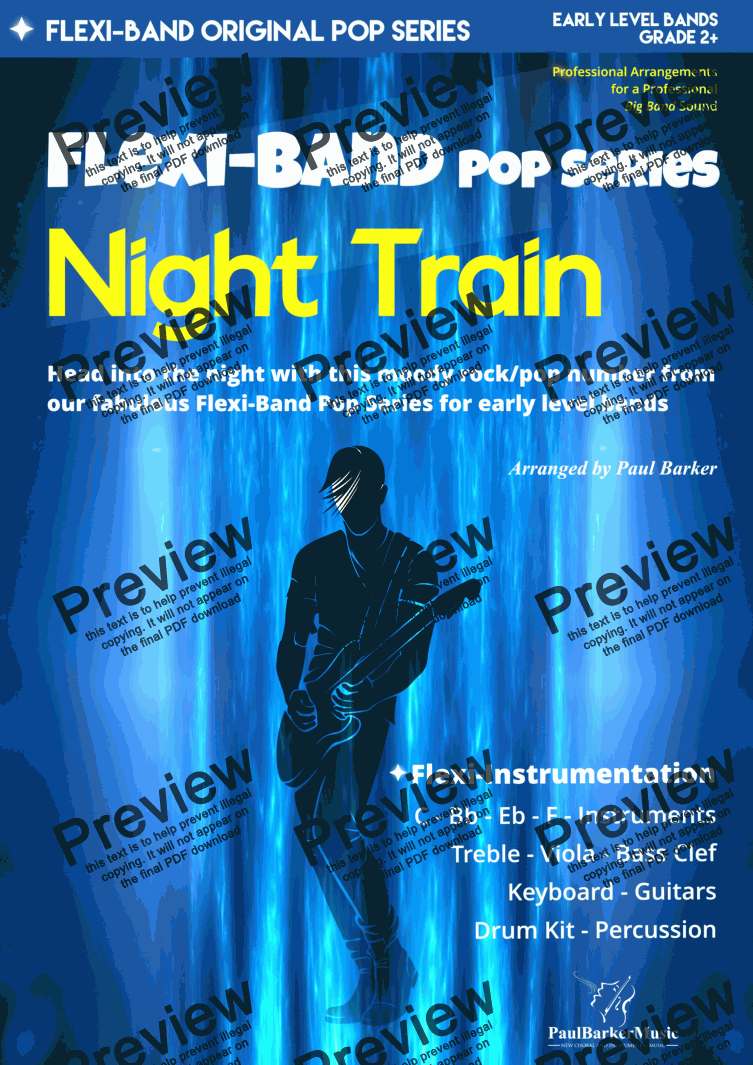 page one of Night Train (Flexi-Band)
