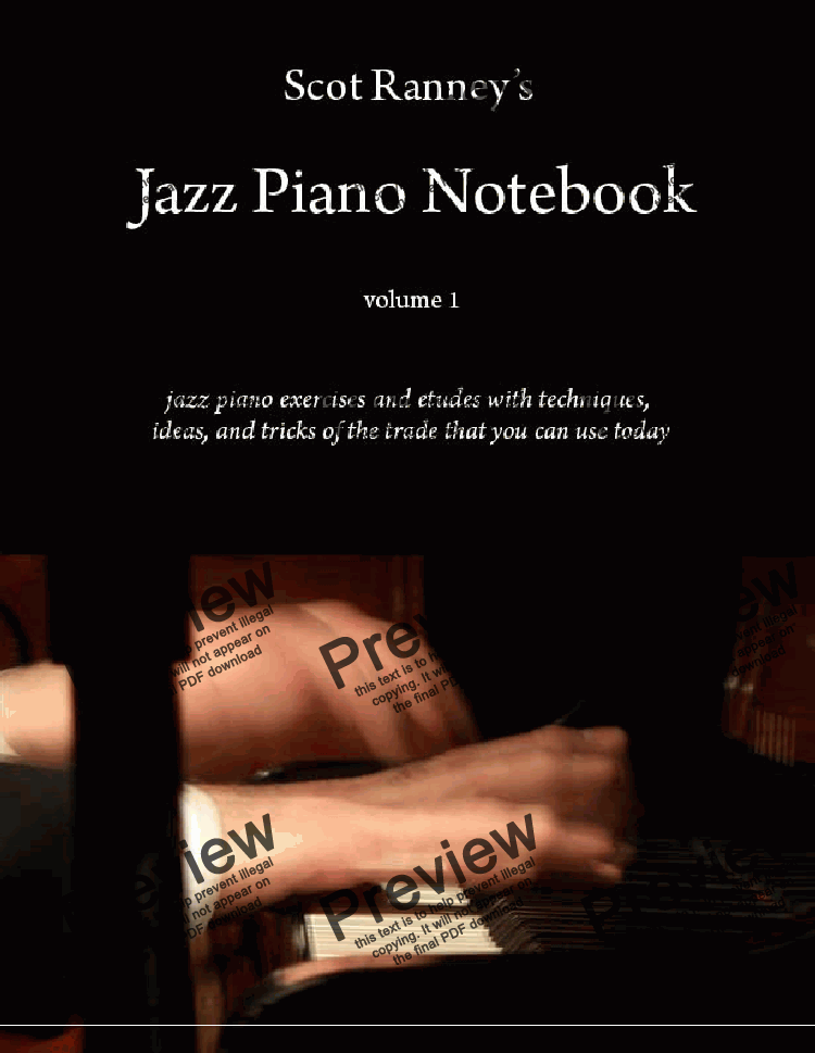Scot Ranney's Jazz Piano Notebook, Volume 1 for Solo instrument (Piano) by  Scot Ranney - Sheet Music PDF file to download