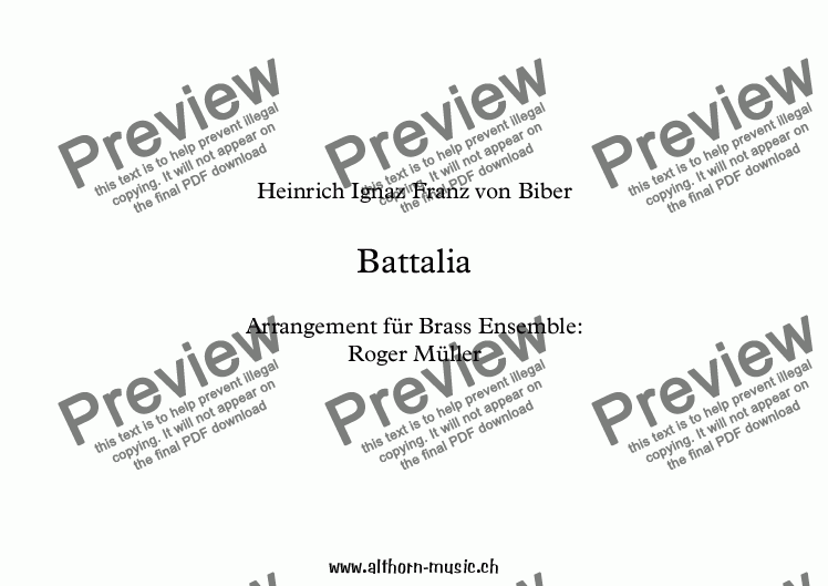 page one of Battalia