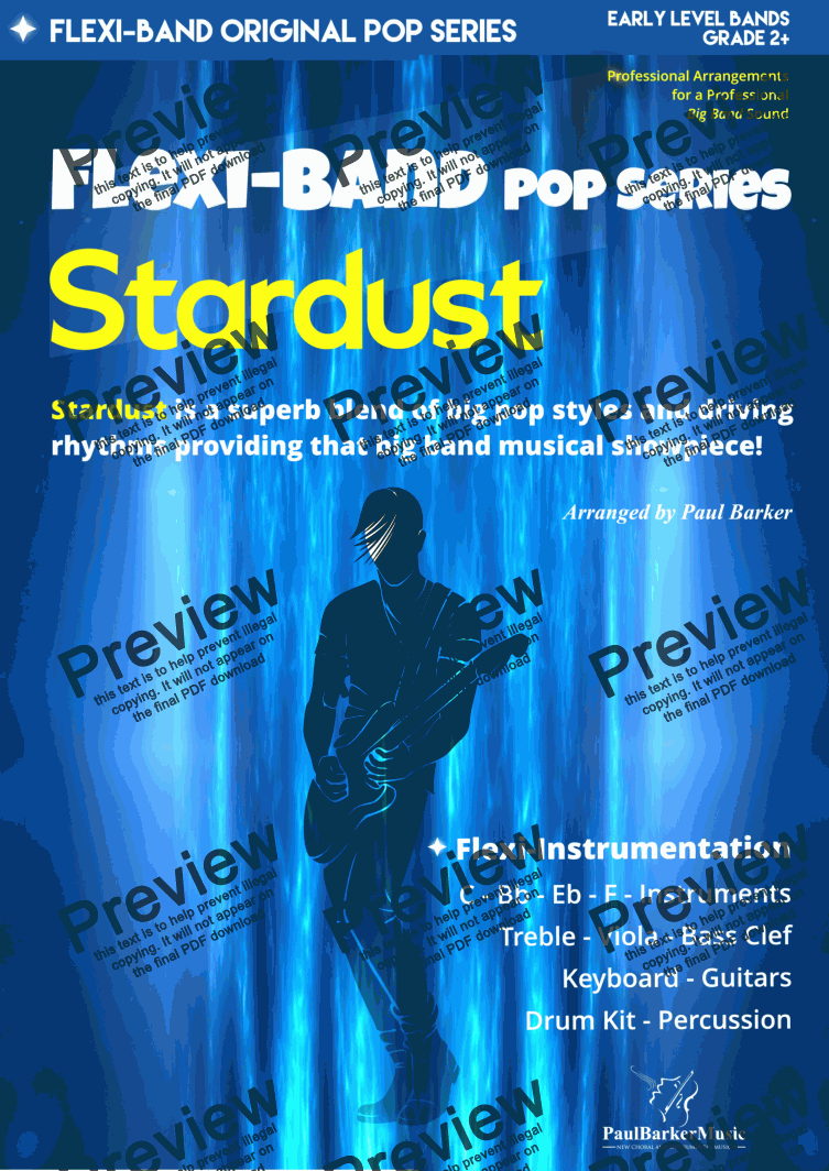 page one of Stardust*  (Flexi-Band)