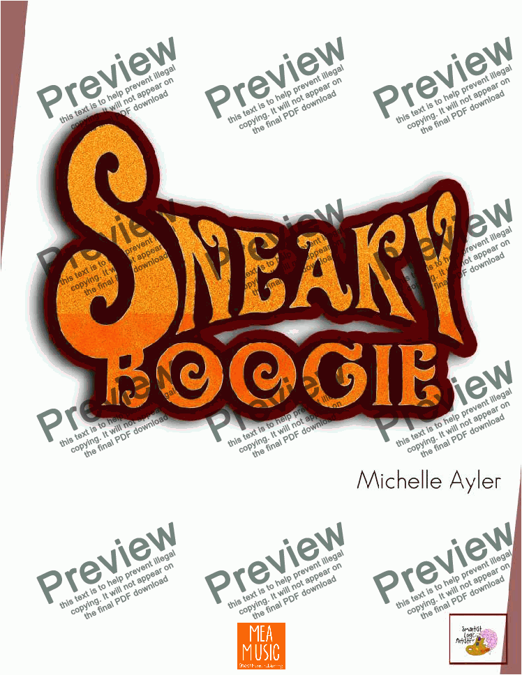 page one of Sneaky Boogie
