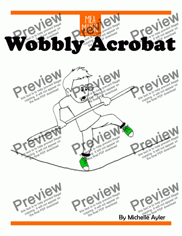 page one of Wobbly Acrobat
