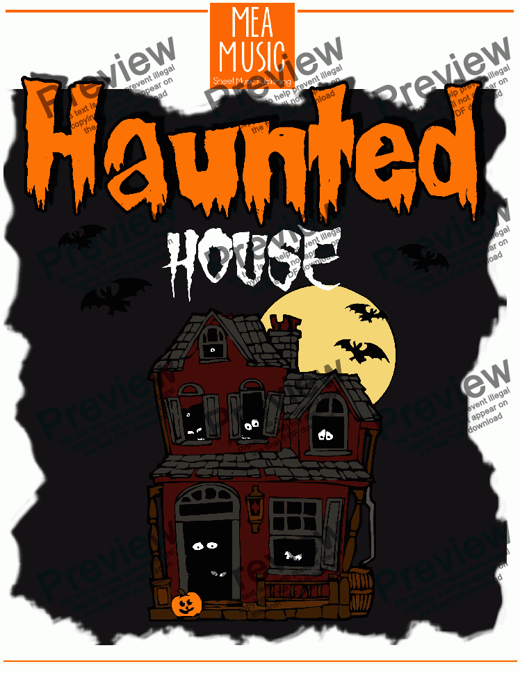 page one of Haunted House
