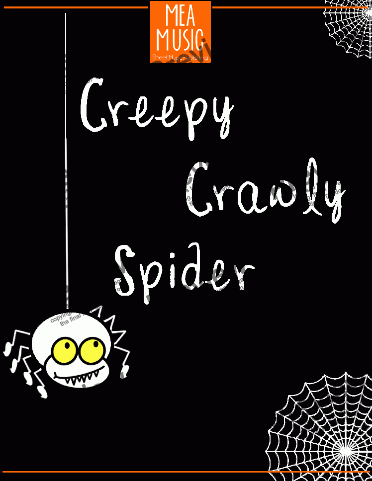 page one of Creepy Crawly Spider