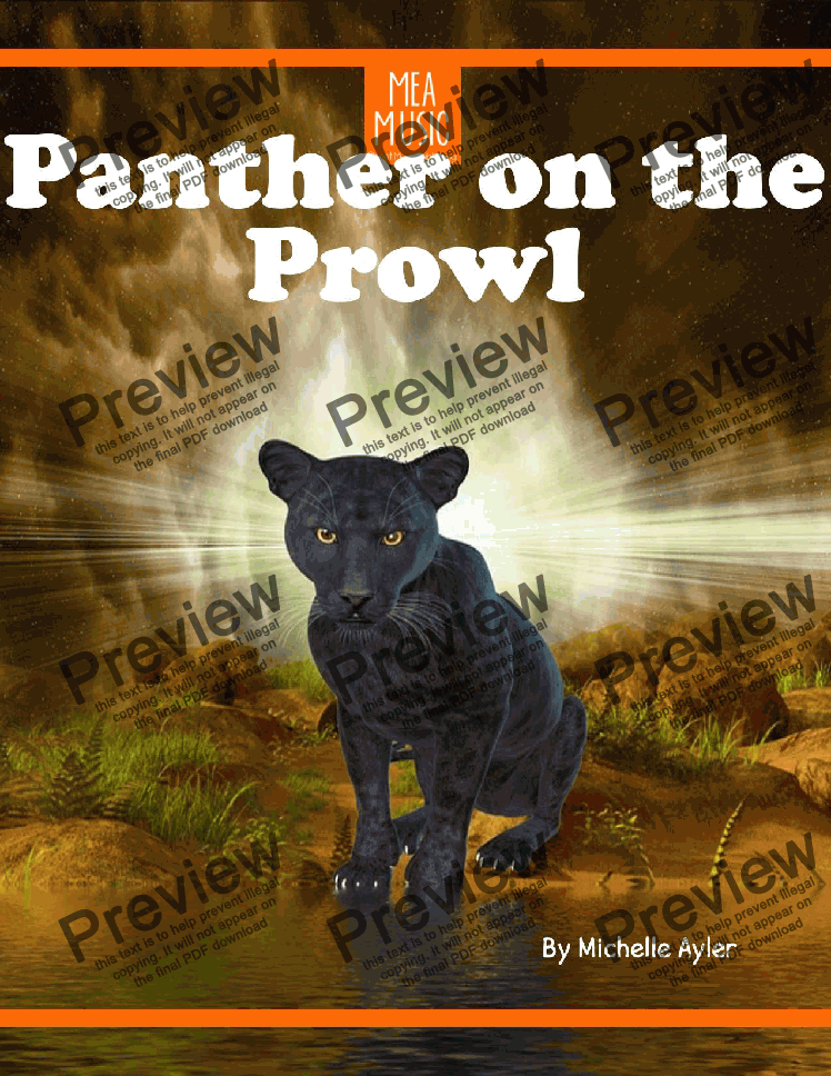 page one of Panther on the Prowl