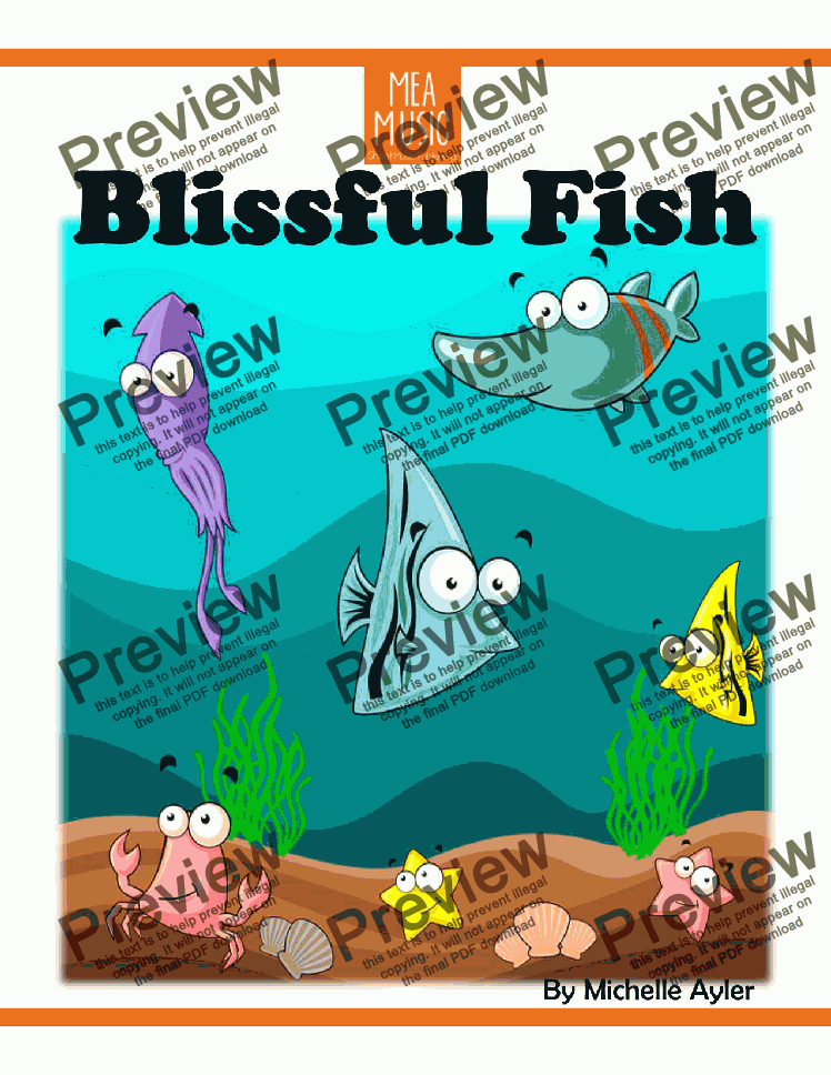 page one of Blissful Fish