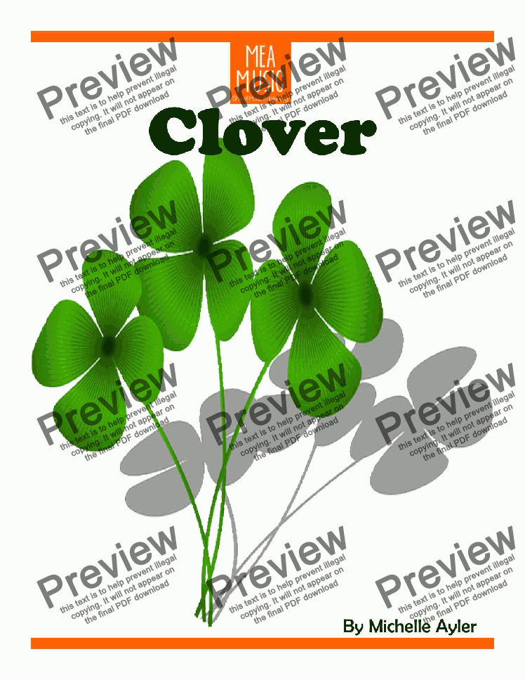 page one of Clover