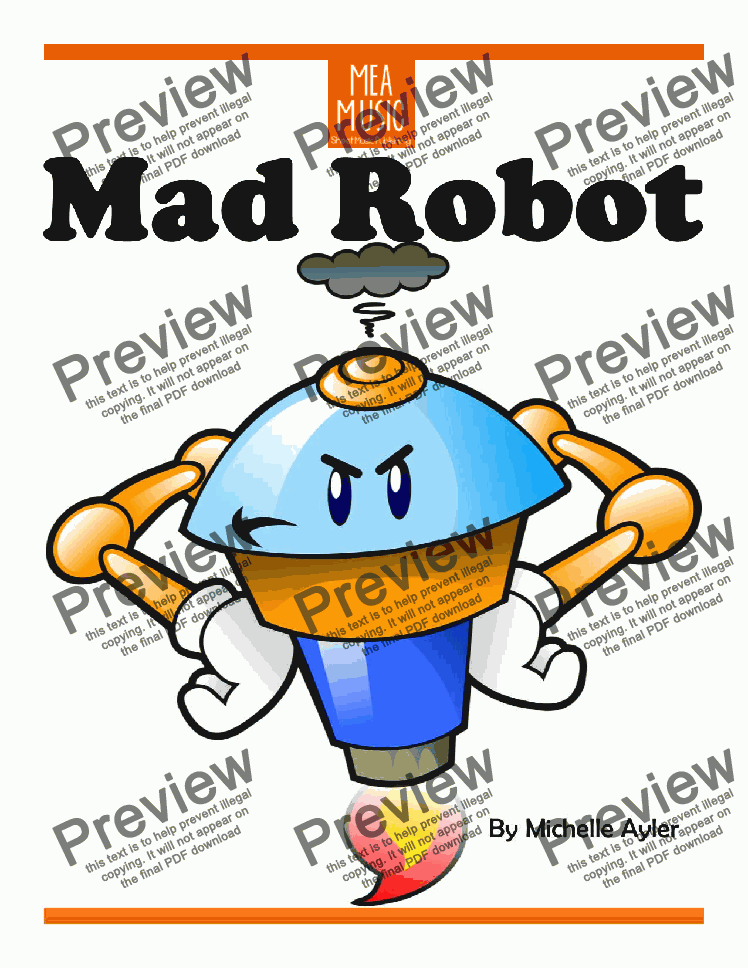 page one of Mad Robot