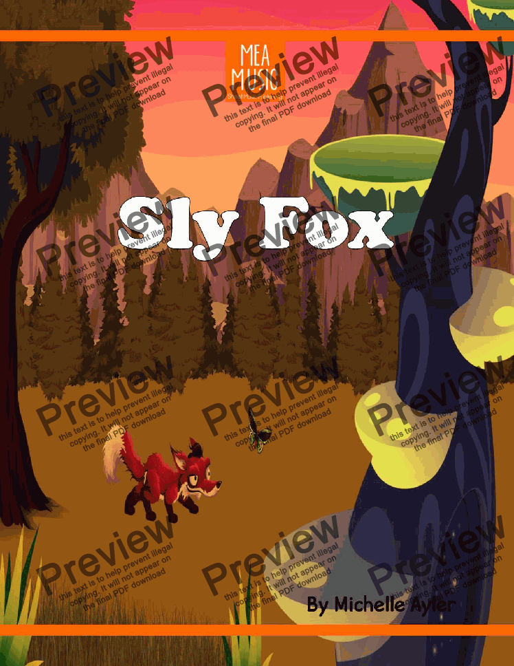 page one of Sly Fox