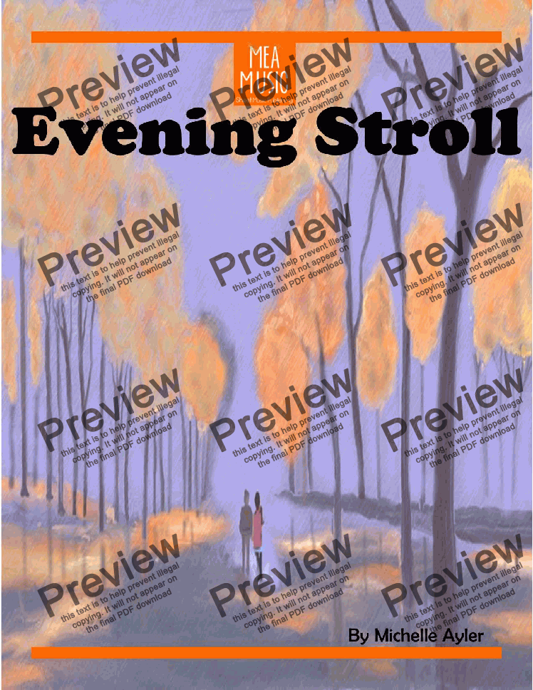 page one of Evening Stroll
