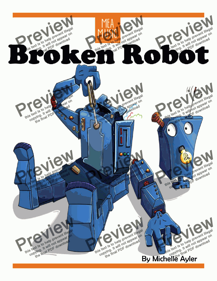 page one of Broken Robot