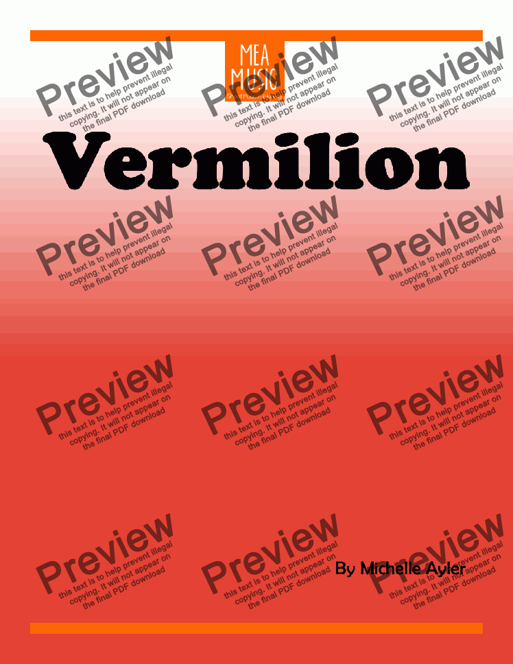 page one of Vermilion