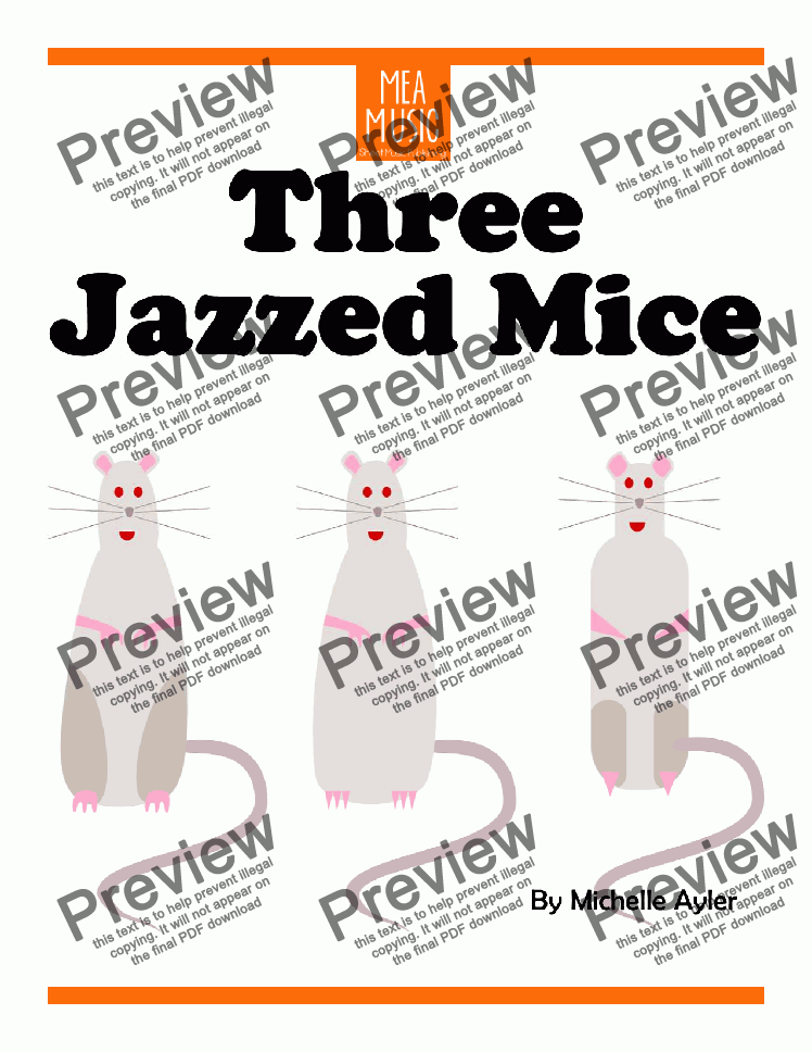page one of Jazzed Mice