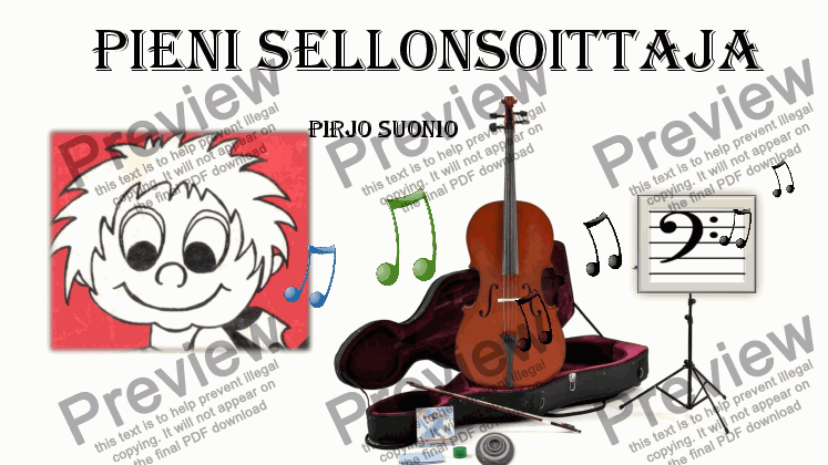 page one of Violoncello School for Toddlers