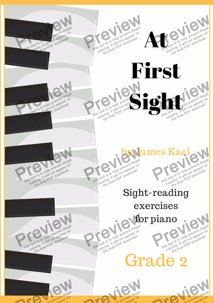 page one of At First Sight: Grade 2